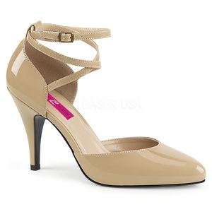 "Shoes - 4"" High Heel D'Orsay Pump Ankle Crisscross Shoes"